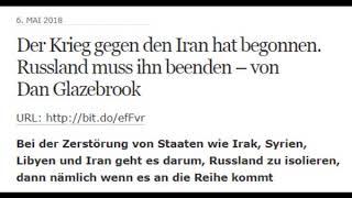 Der Krieg gegen den Iran hat begonnen. Russland muss ihn beenden - von Dan Glazebrook