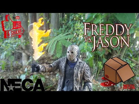 Neca Freddy Vs Jason Ultimate Review And Unboxing/Jason Voorhees
