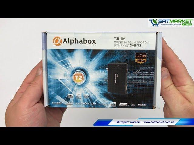 Видео обзор Alphabox T24M