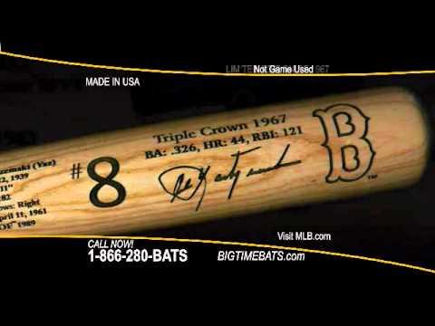 Carl Yastrzemski Triple Crown Season Bat