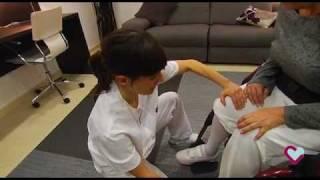 Cambios posturales. En silla de ruedas (Hospital Aita Menni)