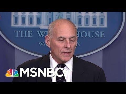 General John Kelly's Powerful Speech Hit At Wilson And President Donald Trump | Morning Joe | MSNBC