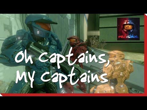 Season 12, Episode 1 - Oh Captains, My Captains | Red Vs. Blue