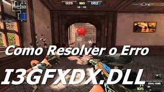 Como Resolver o Erro I3GFXDX.DLL Do Point Blank
