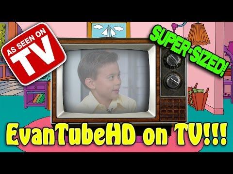 EvanTubeHD ON TV!!! Television Appearances Compilation [SUPER SIZE ME WEEK]
