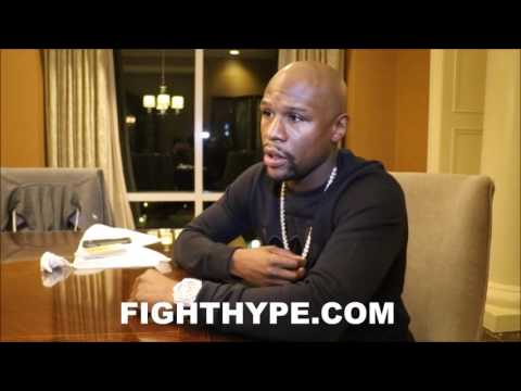 FLOYD MAYWEATHER STUNTIN WITH $4 MILLION IN JEWELRY; SICK NECKLACE FULL OF 3 CARAT DIAMONDS
