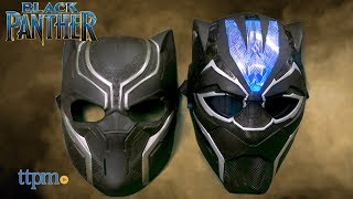 Black Panther Vibranium Power FX Mask from Hasbro