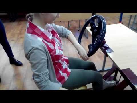 Руль-КПП-педаль сцепления