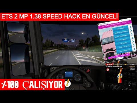 ETS 2 MP SPEED HACK (1.38.x) %100 ÇALIŞIYOR!!!!
