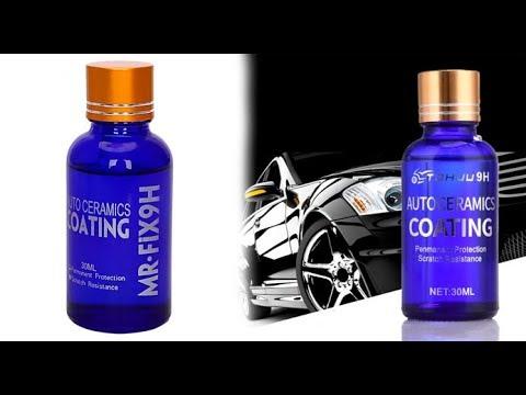 32d0de5ad16 Bil Nano Coated Silicon Liquid keramisk belægning - YouTube
