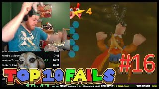 Top 10 Fails In Speedrunning | Episode 16