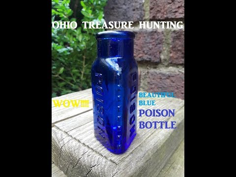 Ohio Treasure Hunting AWESOME FIND Bottle Digging Archaeology History