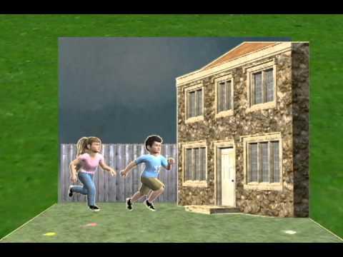 Old Version - Ember911.com Child Safety - Bad Weather - Storm Tornado & Lightning Safety for Kids