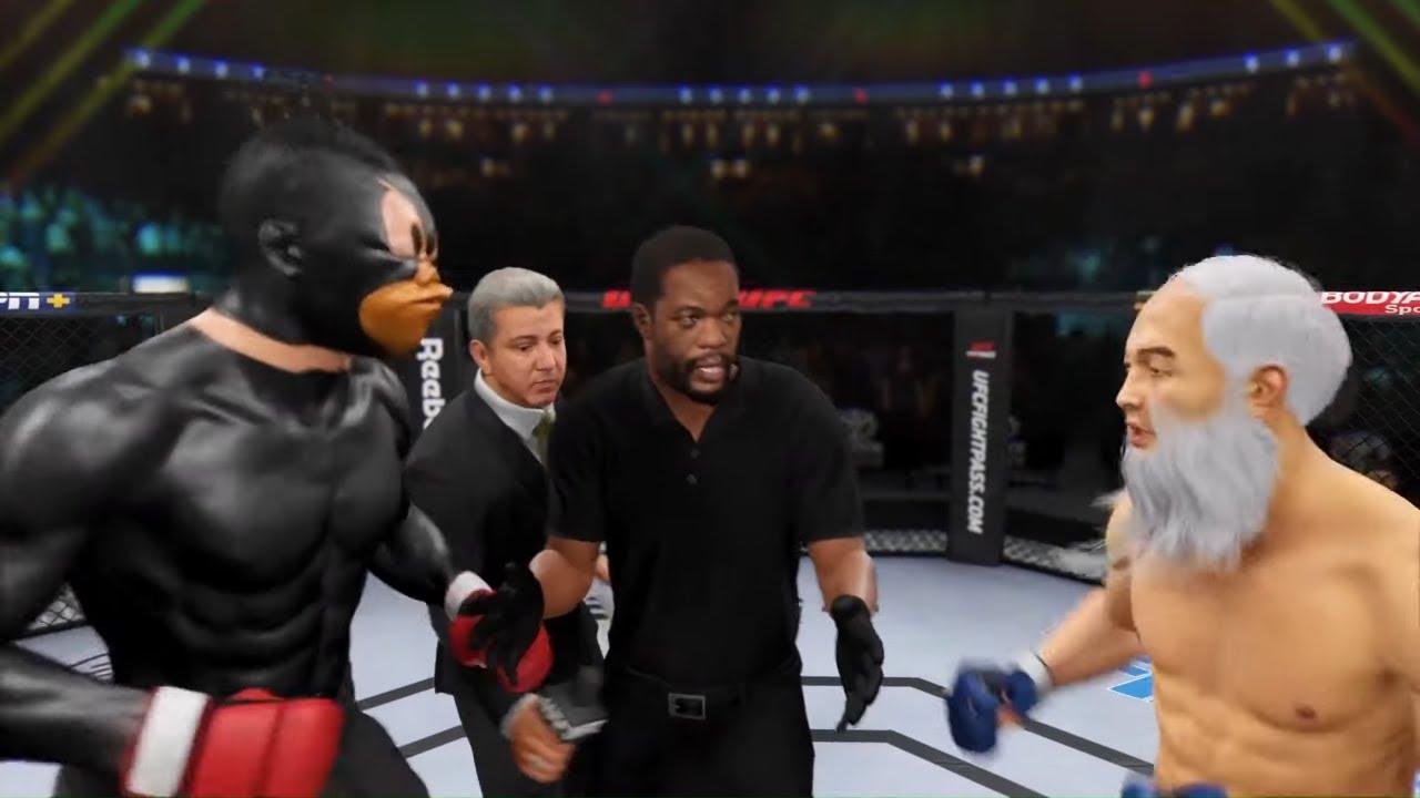 Daffy Duck vs. Old Bruce Lee - EA sports UFC 4