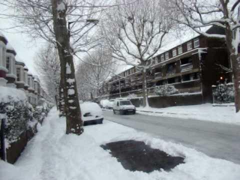 John ruskin street sous la neige