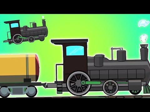 รถไฟ | รถไฟrhymesสำหรับเด็กที่ในประเทศไทย