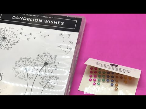❤️ LIVE Stampin' UP Dandelion Wishes 2020-2022 Annual Catalog