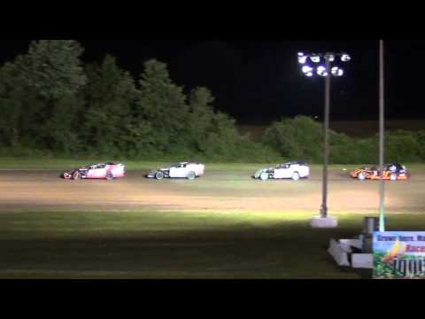 Gas City Speedway Modified Feature 6-27-14 (Randy LInes)
