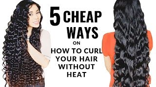 5 Cheap Ways On How To Curl Your Hair Without Heat -Beautyklove
