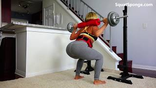 Big Butt Squats, Deadlift, and Barbell Workout!