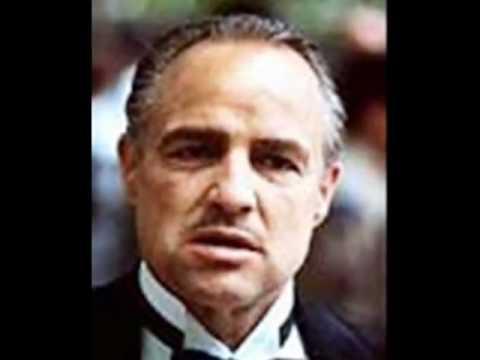 The Godfather: Don Corleone: Marlon Brando