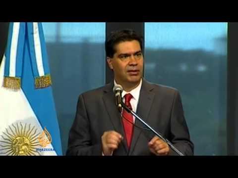 Argentine peso takes biggest dip in 12 years