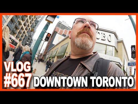 Dog Walk, Bike Repair, Toronto, McDonald's Review, Lee Valley, YouTube Party - Ken's Vlog #667