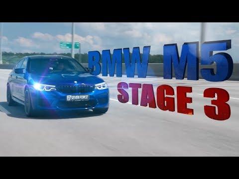 BMW M5 F90 Stage 3 7F! Сколько сил?