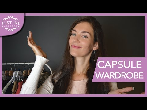 How to build a capsule wardrobe | Fashion minimalism | Justine Leconte