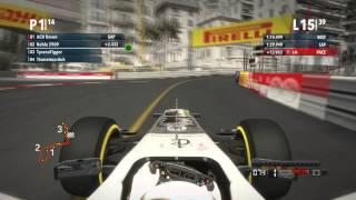 ARL | F1 2012 X360 F1 | Season 5 Round 6 Monaco Grand Prix