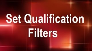 MicroStrategy - Set Qualification Filters - Online Training Video by MicroRooster