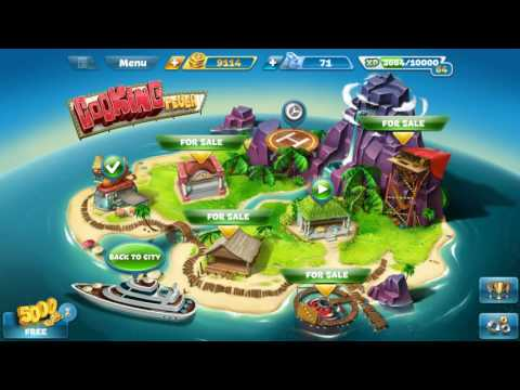 Cooking Fever: Paradise Island (Part 2)
