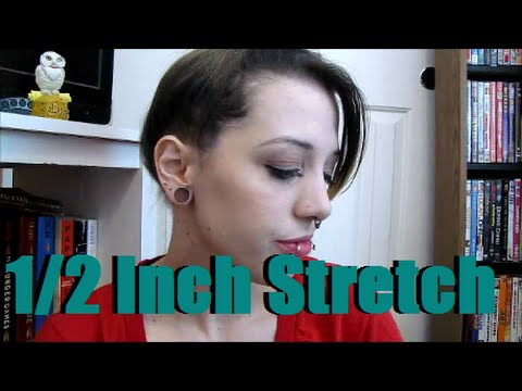 7/16 Inch to 1/2 Inch Ear Stretch | Ear Stretching Journey ...