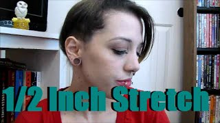 7/16 Inch to 1/2 Inch Ear Stretch | Ear Stretching Journey