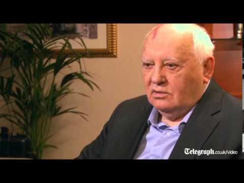 Former Soviet leader Mikhail Gorbachev calls for Ukraine unity