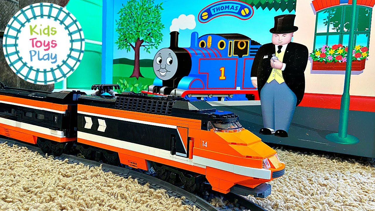 LEGO Train Horizon Express Speed Build and Review