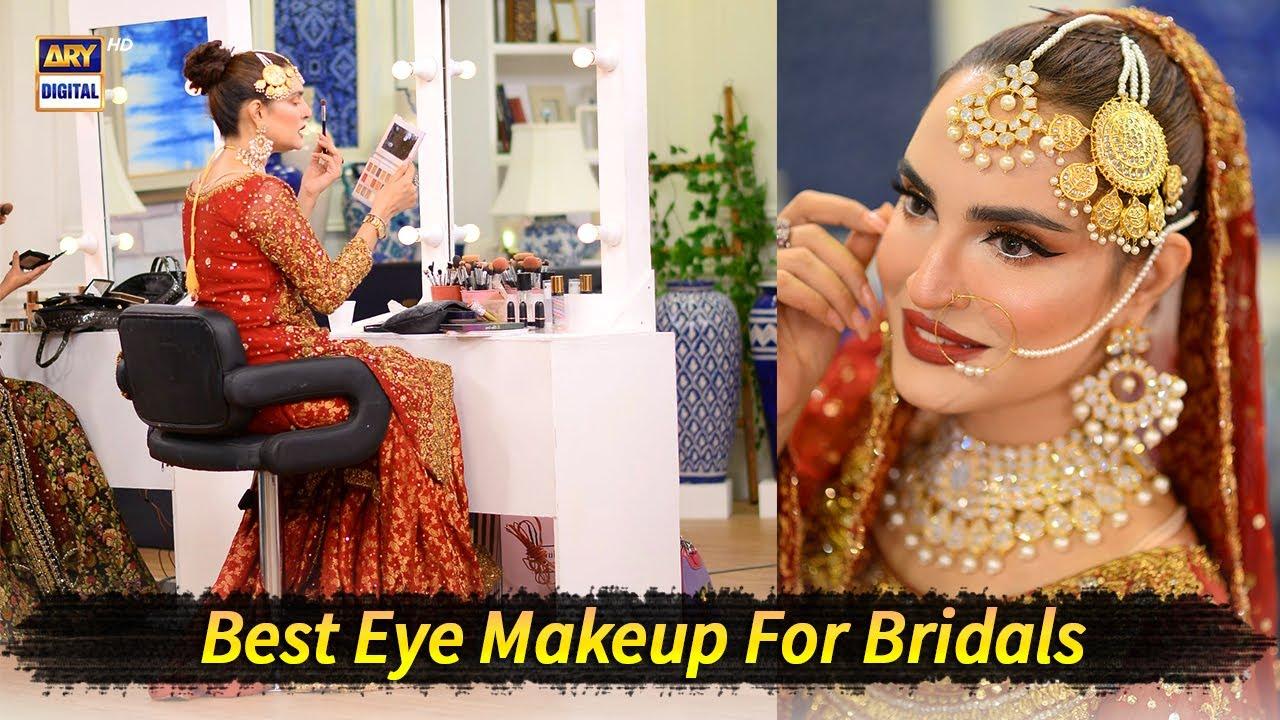 Best Eye Makeup For Bridals - Good Morning Pakistan