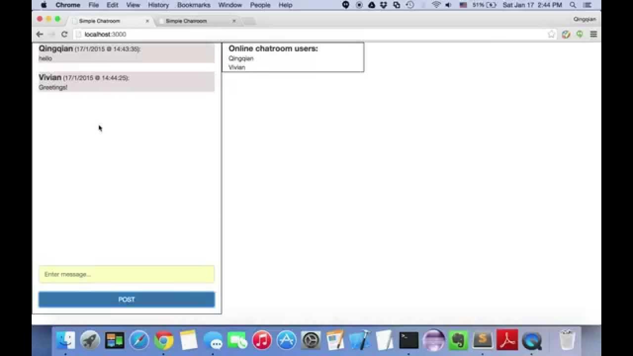 node js express framework pdf