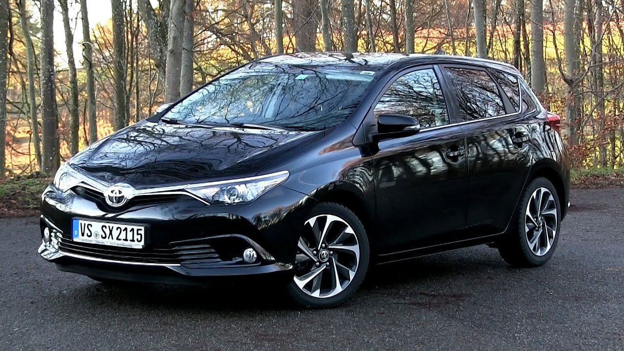 2015 toyota auris 1 2 turbo 116 hp test drive youtube. Black Bedroom Furniture Sets. Home Design Ideas