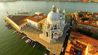 HD Drone Video - Flight Over Venice, Italy