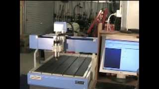 2 New CNC 6090 router installation and first cut