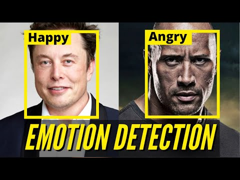 Emotion Detection -Python Project using Machine Learning & OpenCV – with code (Face Expressions)