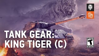 Tank Gear: The King Tiger (C) vs. Cars. Guide Park.