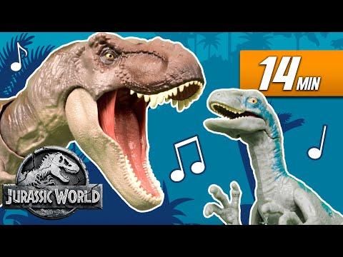 Jurassic World's Monstrous Musical Dinosaur Compilation   Mattel Action!