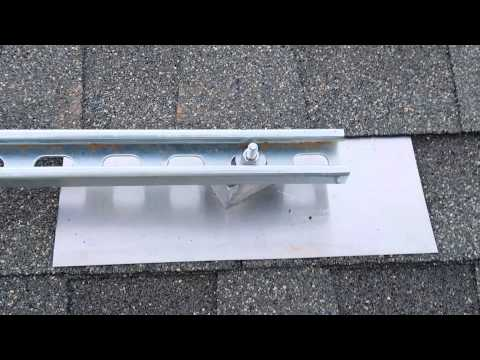 DIY-Cheap Solar panel racking system