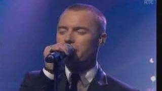 live performance of The Dance by westlife and ronan keating in the ...
