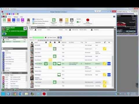 Bridge Operator Console 3 - Full 35 Minute Product Demo - Replace Cisco Attendant Console