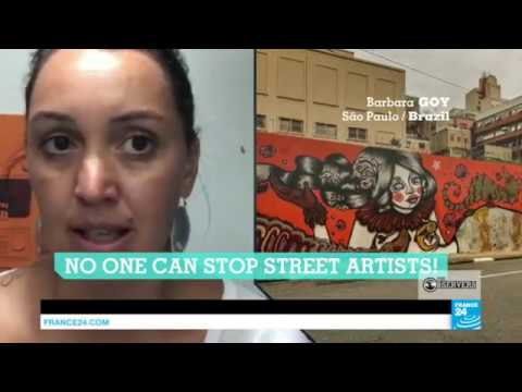 São Paulo destroys street art, part of the city's culture