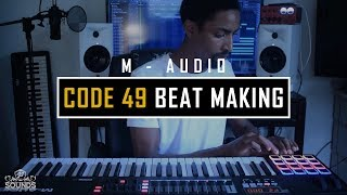 M-Audio Code 49 �� Beat Making Demo (JS Sounds)