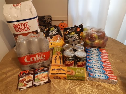 Canadian Coupon Grocery Haul #22